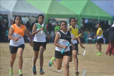 Secondary Section Sports Meet 2019